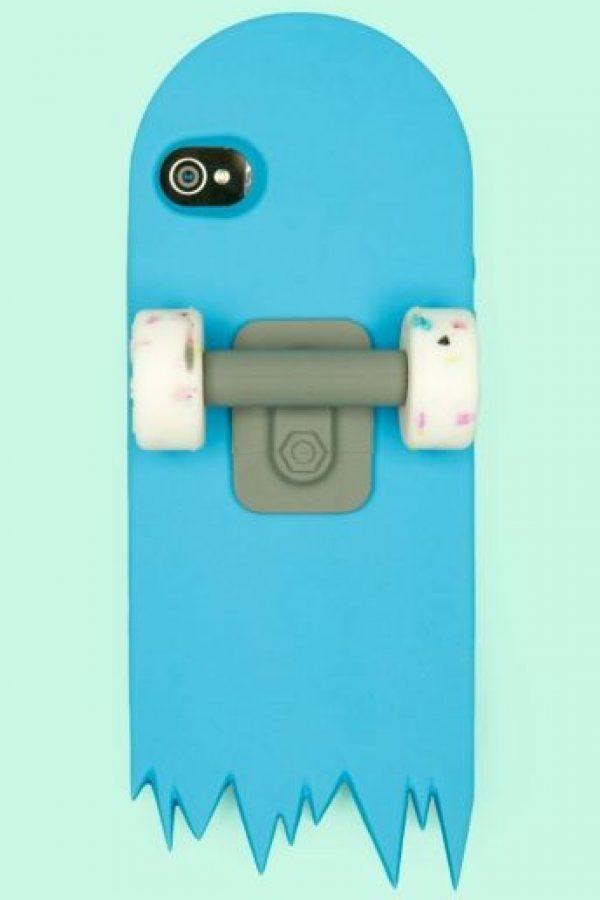 Una patineta rota. Foto:Pinterest
