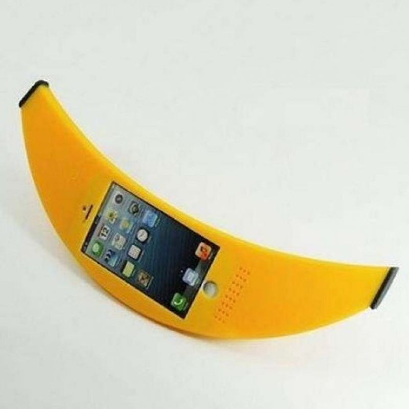 Una banana o plátano. Foto:Pinterest