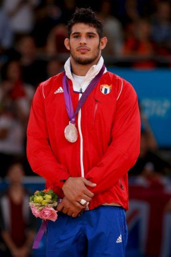 Plata en judo, categoría menos de 90 kilos. Foto:Getty Images
