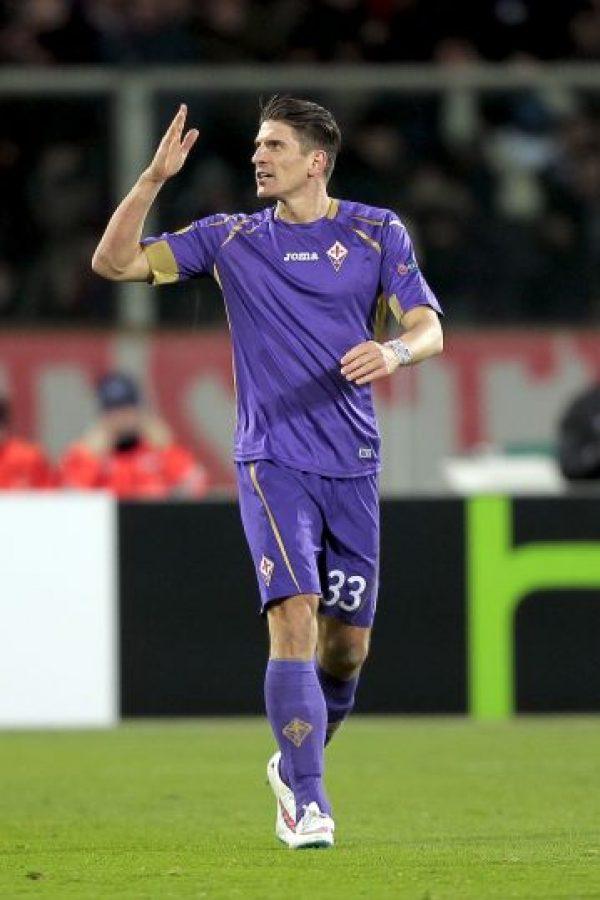 Juega para la Fiorentina de la Serie A de Italia. Foto:Getty Images
