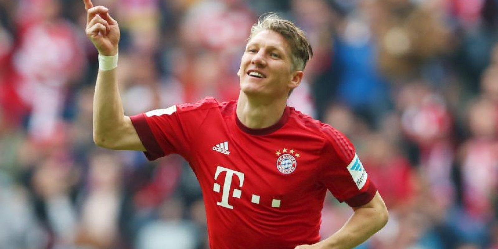 El último en salir del equipo fue el alemán Bastian Schweinsteiger (31). Foto:Getty Images