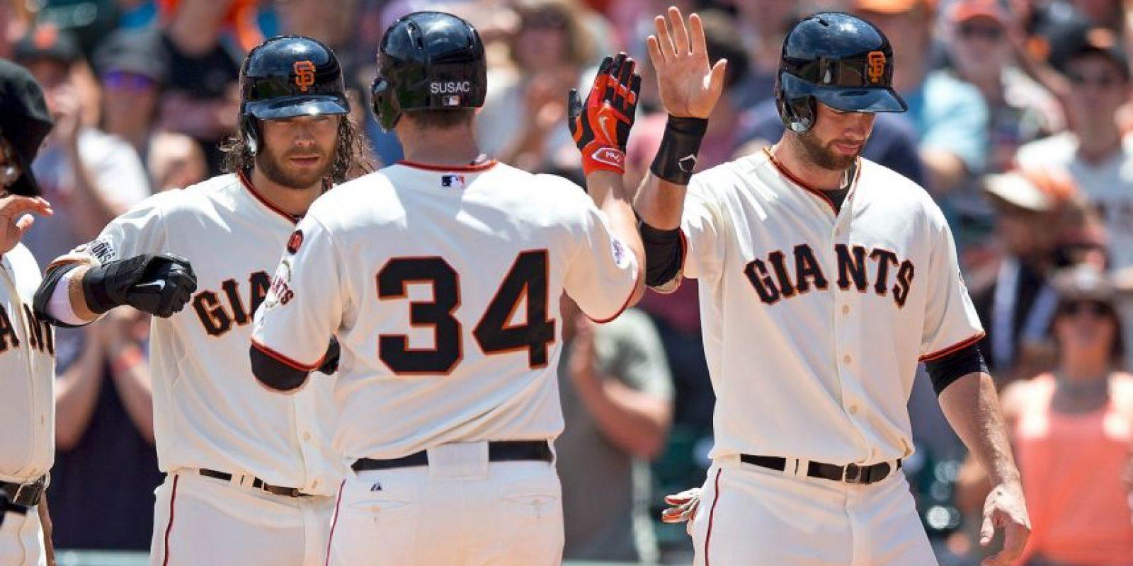 Los Gigantes de la MLB tienen un valor de dos mil millones de dólares Foto:Getty Images