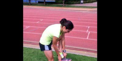 La azteca consiguió la medalla de plata en triatlón Foto:Via twitter.com/paoladiazgo
