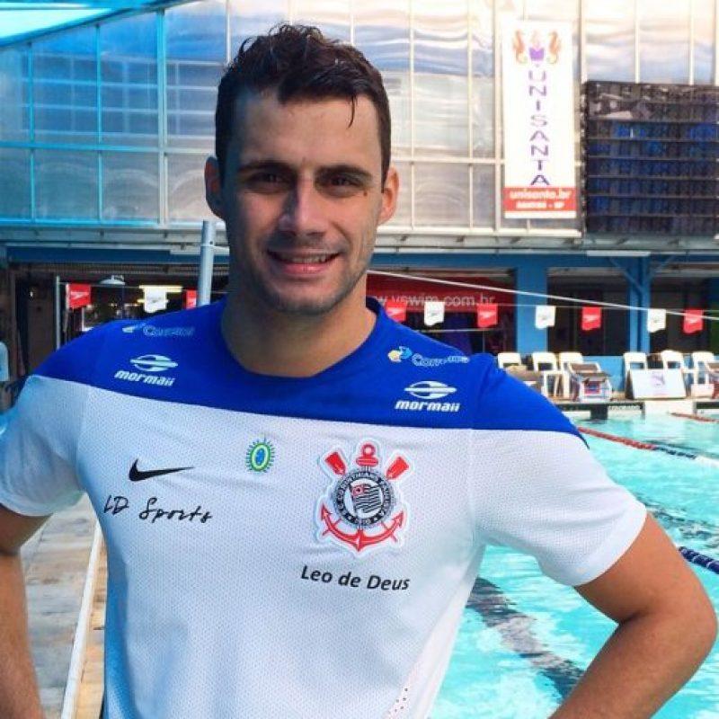 Oro en natación, estilo mariposa 200 metros. Foto:Vía instagram.com/leogdeus