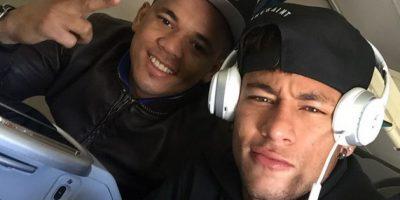 En este jet, Neymar y sus amigos viajaron a Las Vegas en Estados Unidos. Foto:Vía instagram.com/neymarjr