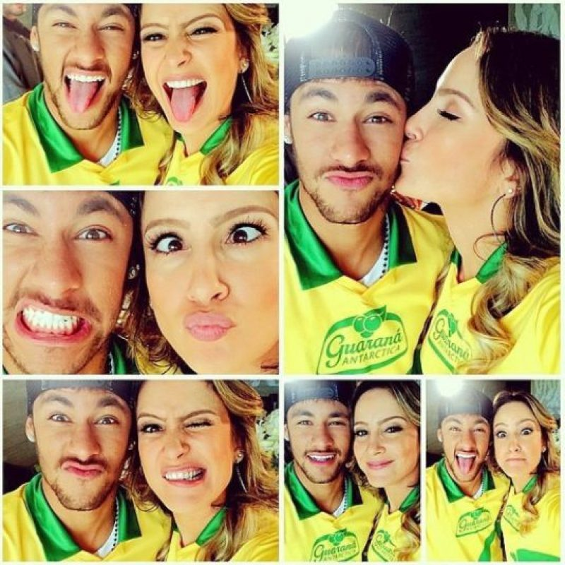 En Brasil, convivió con su amiga, la cantante brasileña Claudia Leitte. Foto:Vía instagram.com/neymarjr
