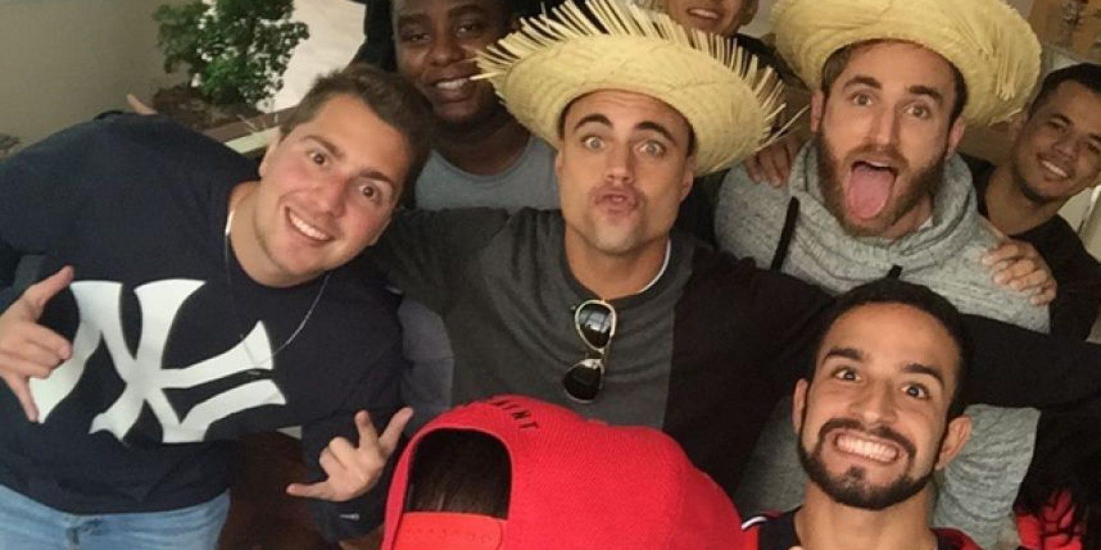 También organizó una fiesta con sus familiares y amigos. Foto:Vía instagram.com/neymarjr