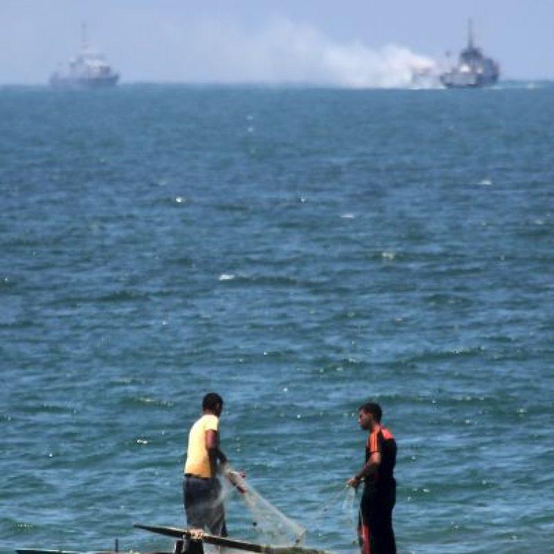 Según información del portavoz del ejército, ningún miembro de la tripulación falleció. Foto:AFP