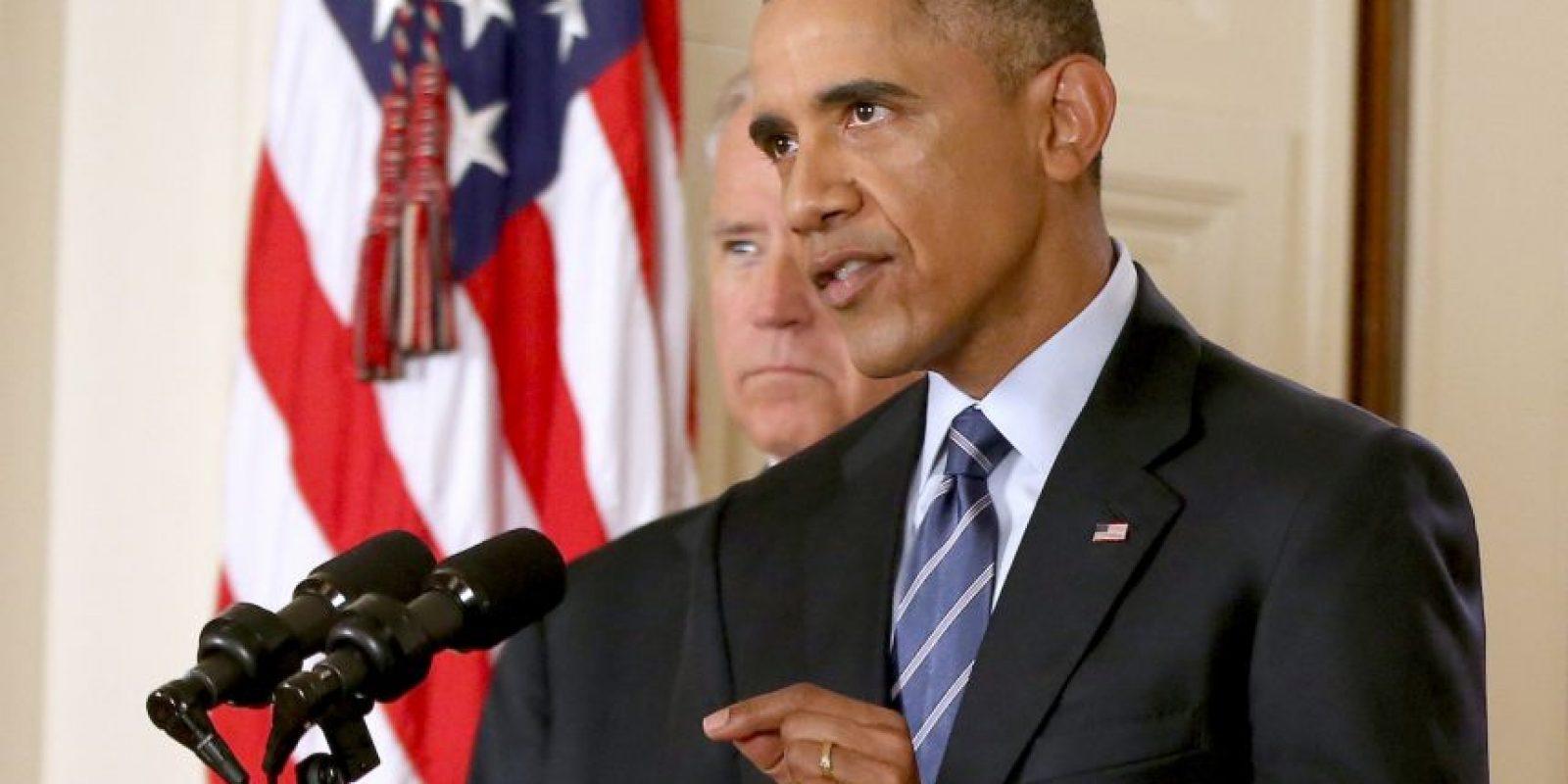 """En un mensaje desde Washington, el presidente de Estados Unidos, Barack Obama indicó que """"hace más de 50 años, Kennedy le dijo a los estadounidenses que nunca debemos negociar con miedo, pero que tampoco debemos tener nunca miedo a negociar"""". Foto:AFP"""