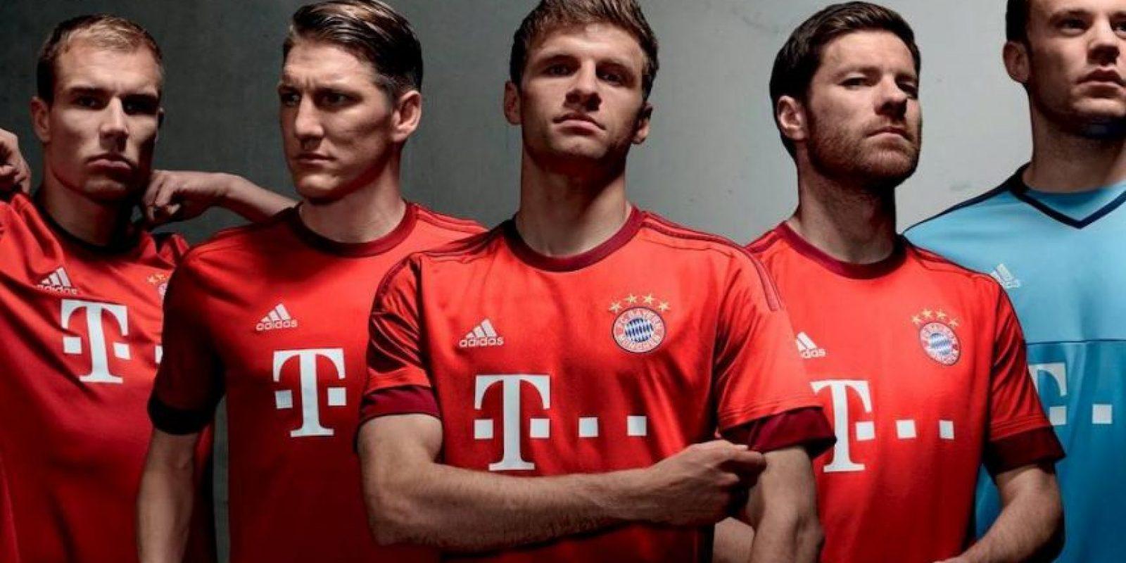 Así lucirá Bayern Munich durante la campaña que está por arrancar. Foto:Vía facebook.com/fcbayern.es