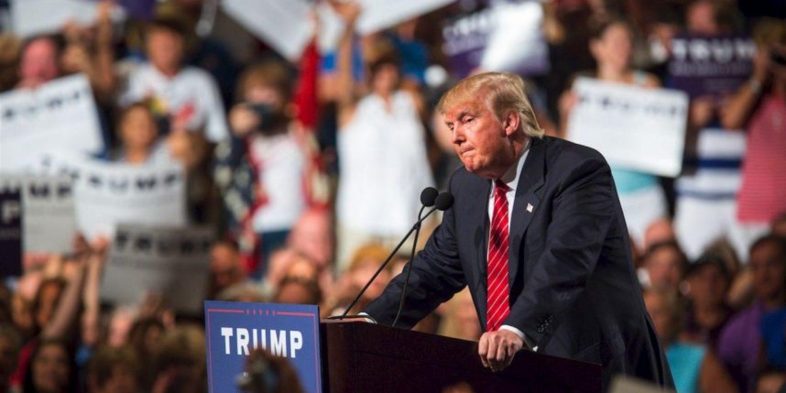 El precandidato informó que su fortuna total son 10 mil millones de dólar, de acuerdo a su equipo de campaña. Foto:Getty Images