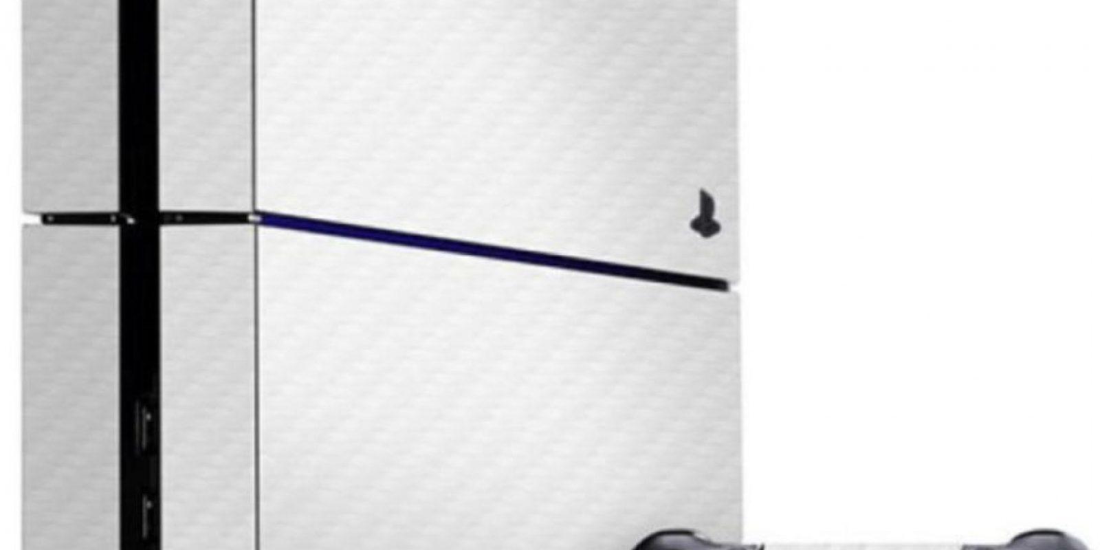 PlayStation 4 color blanco. Foto:Sony