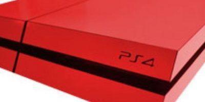 PlayStation 4 color rojo. Foto:Sony