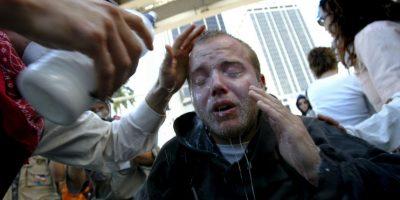 Pero en realidad sufrió un ataque respiratorio. Foto:Getty Images