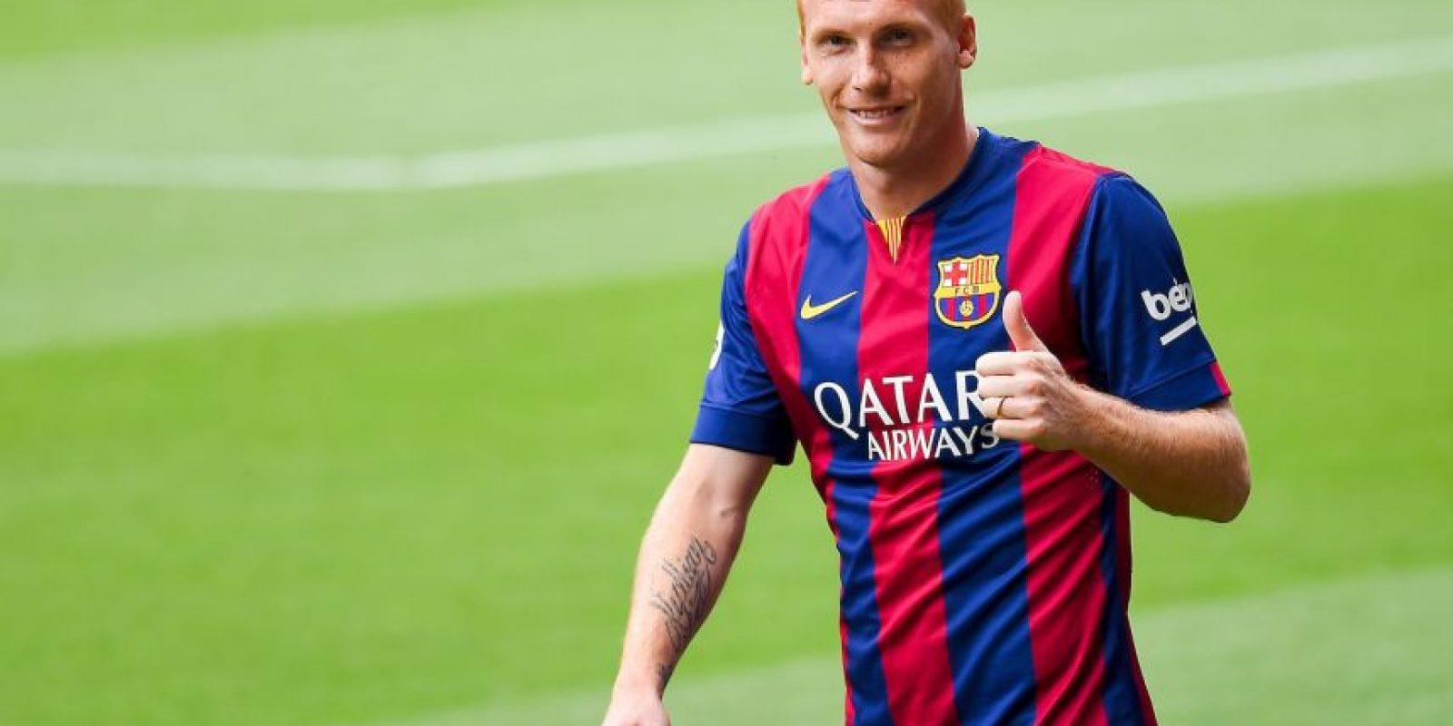 6. Jeremy Mathieu – 20 millones de euros. Foto:Getty Images
