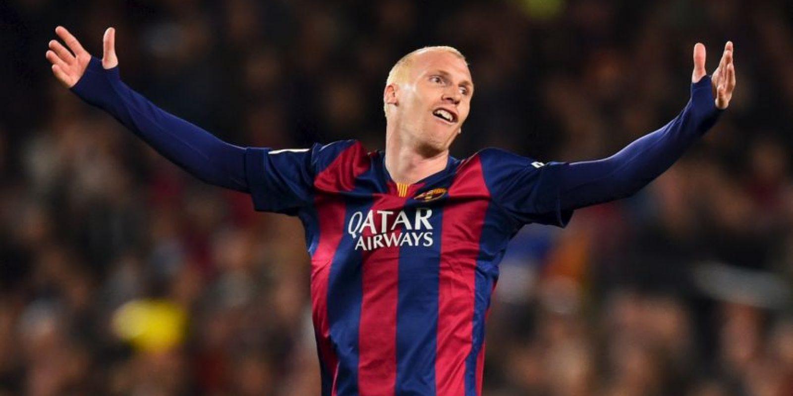 Llegó al Barcelona en la temporada 2014-2015, pero fue muy criticado por su edad: 31 años al momento del fichaje. Foto:Getty Images