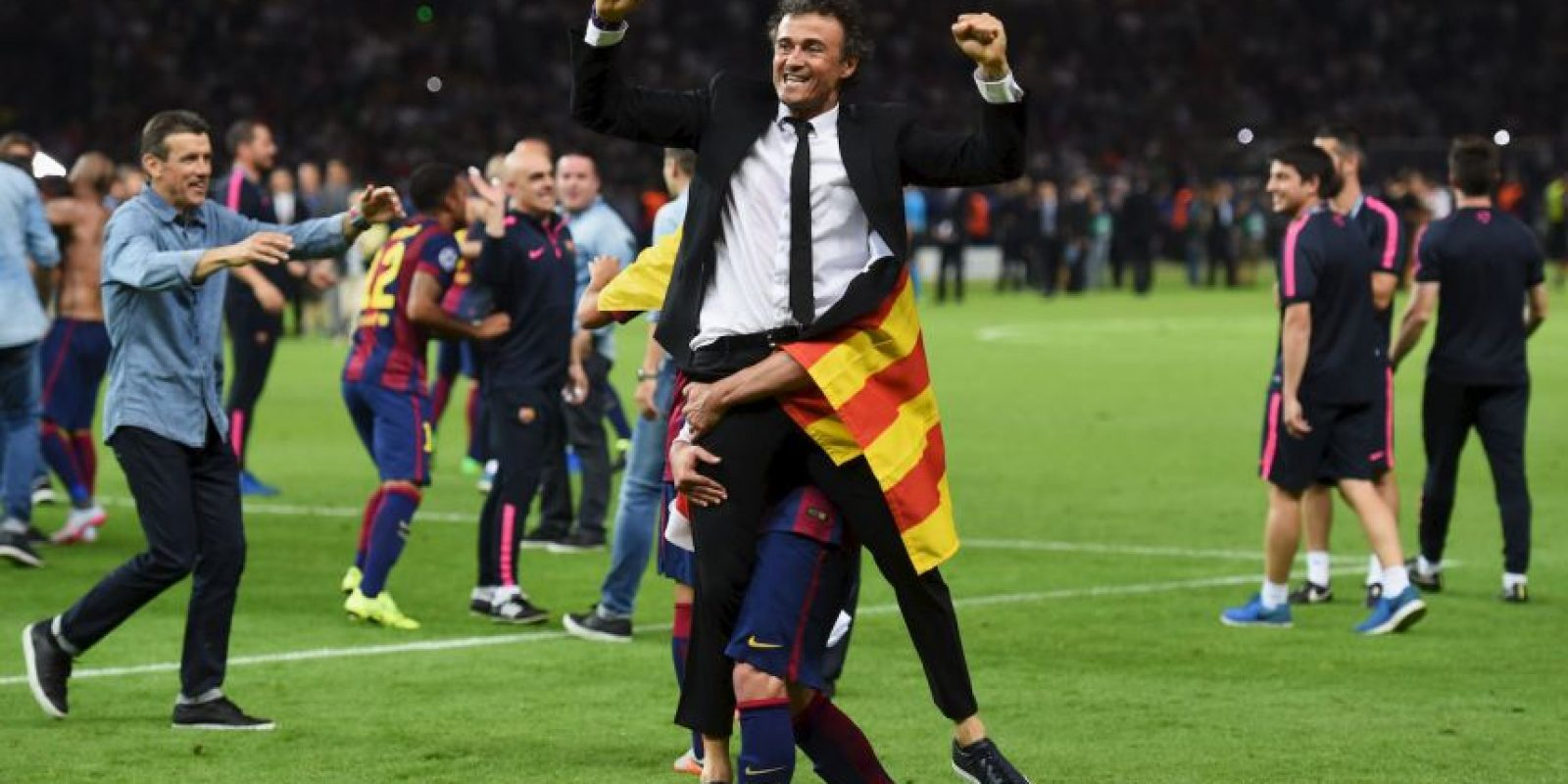 3. Luis Enrique Foto: Getty Images