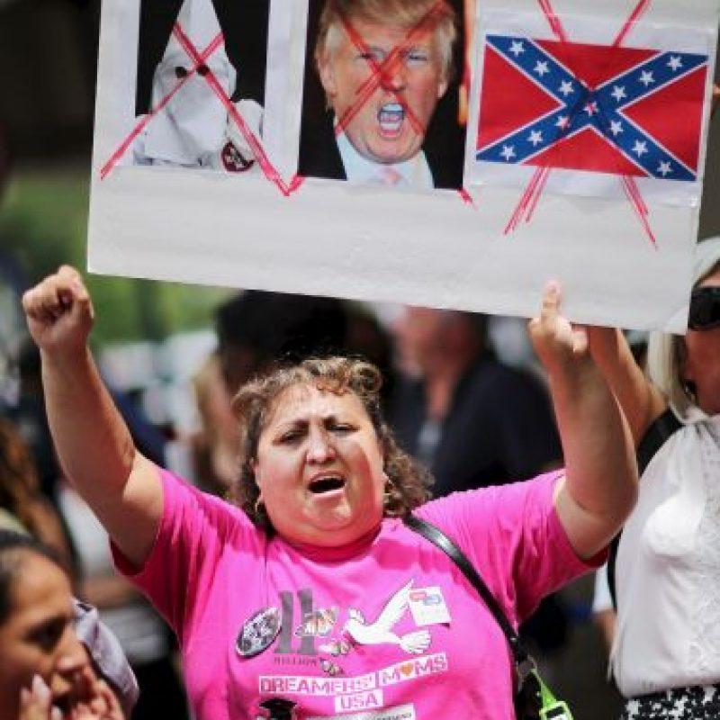 """Esto expresó Trump cuando """"El Chapo"""" escapó de prisión durante el fin de semana. Reprochó a sus detractores y pidió que se disculparan. Foto:Getty Images"""