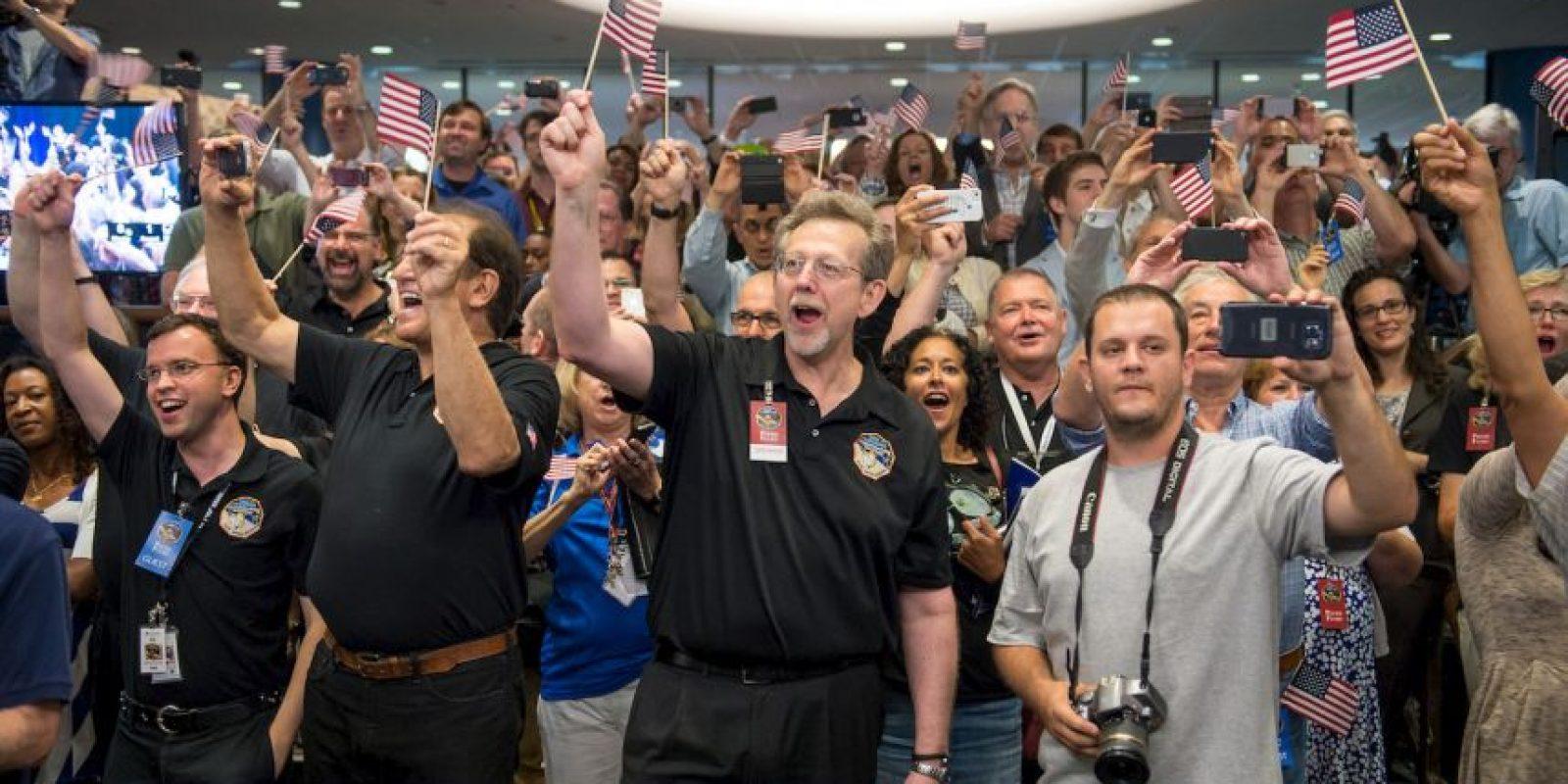 1. El día de ayer la NASA compartió impresionantes imágenes de Plutón. Foto:Getty Images