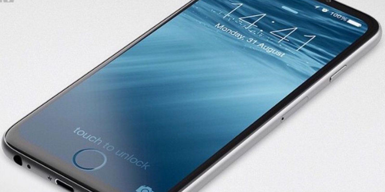 Otros seguidores de la marca imaginan al móvil con una pantalla más amplia e incluso sin botón de inicio Foto:Tumblr