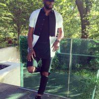"""El jugador camerunés es uno de los """"fashion victims"""" del Barcelona. Foto:Vía instagram.com/17alexsong"""