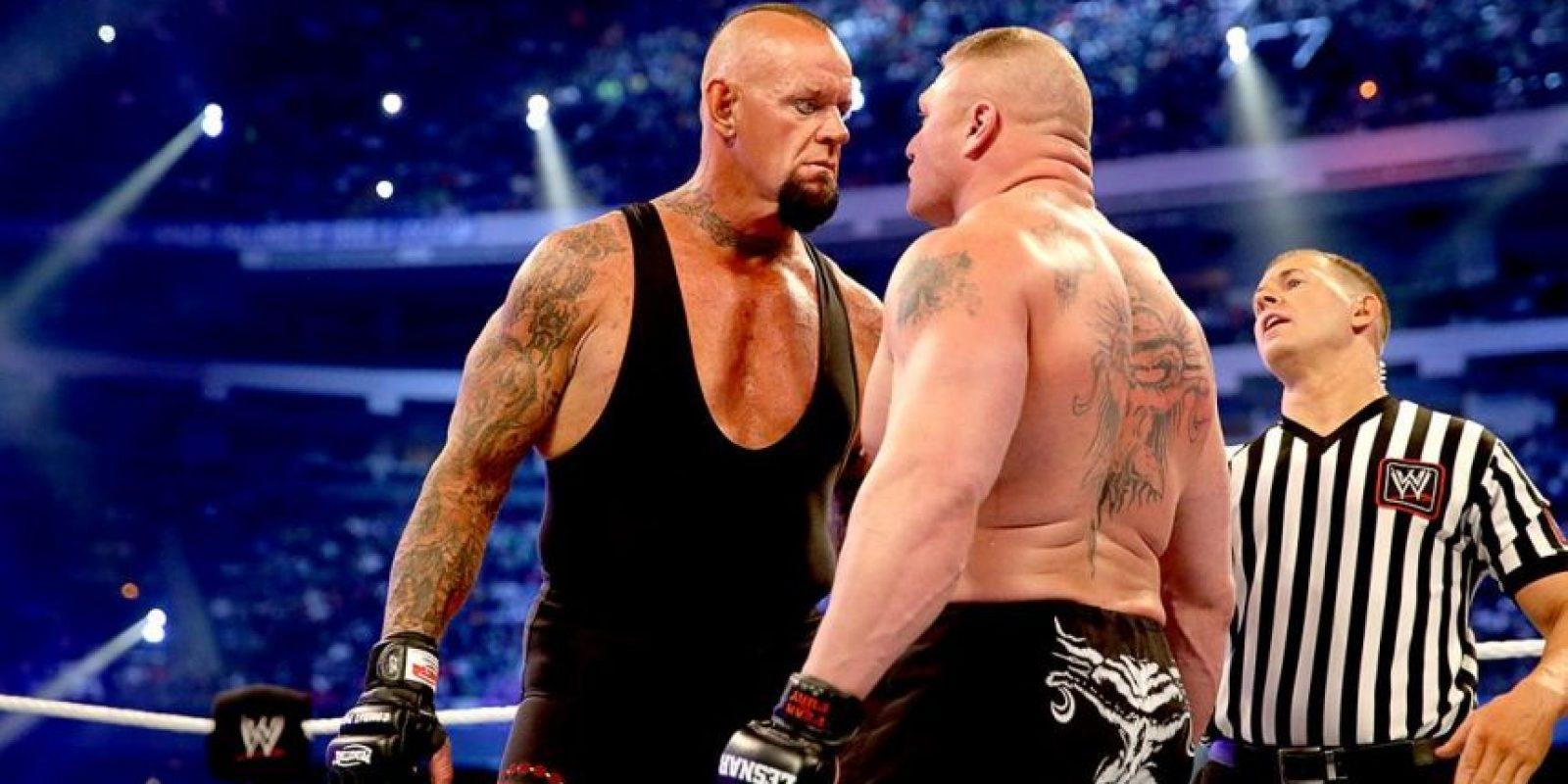 Después de esa pelea, dejó los cuadriláteros hasta el pasado Wrestlemania Foto:WWE