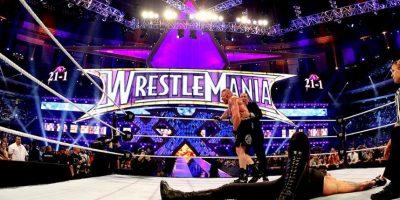"""Fue derrotado por primera vez en la """"Vitrina de los Inmortales"""" por Brock Lesnar Foto:WWE"""