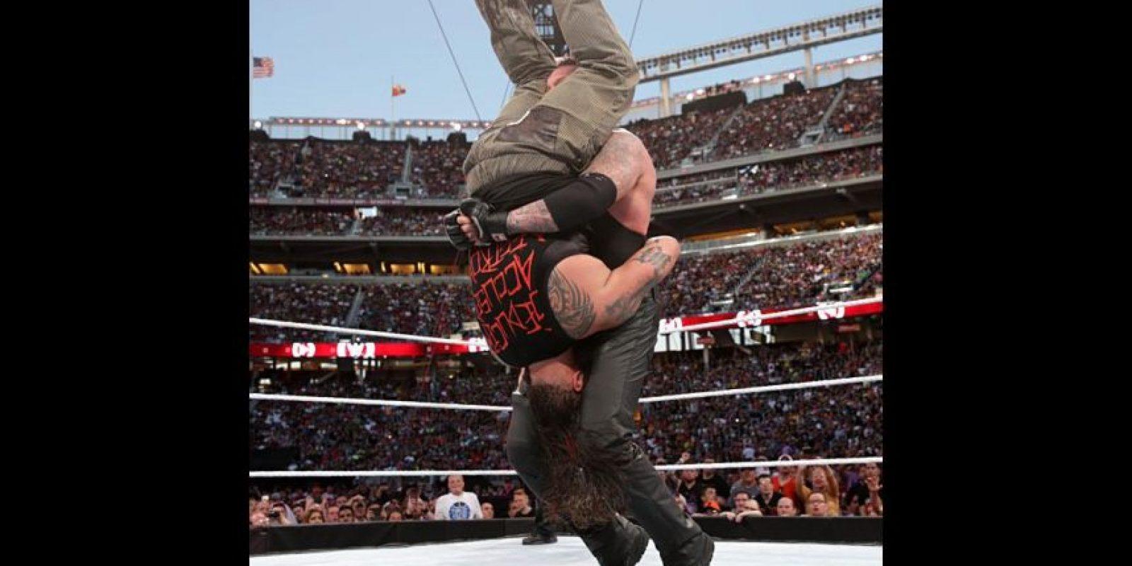 Su última pelea fue ante Bray Wyatt Foto:WWE