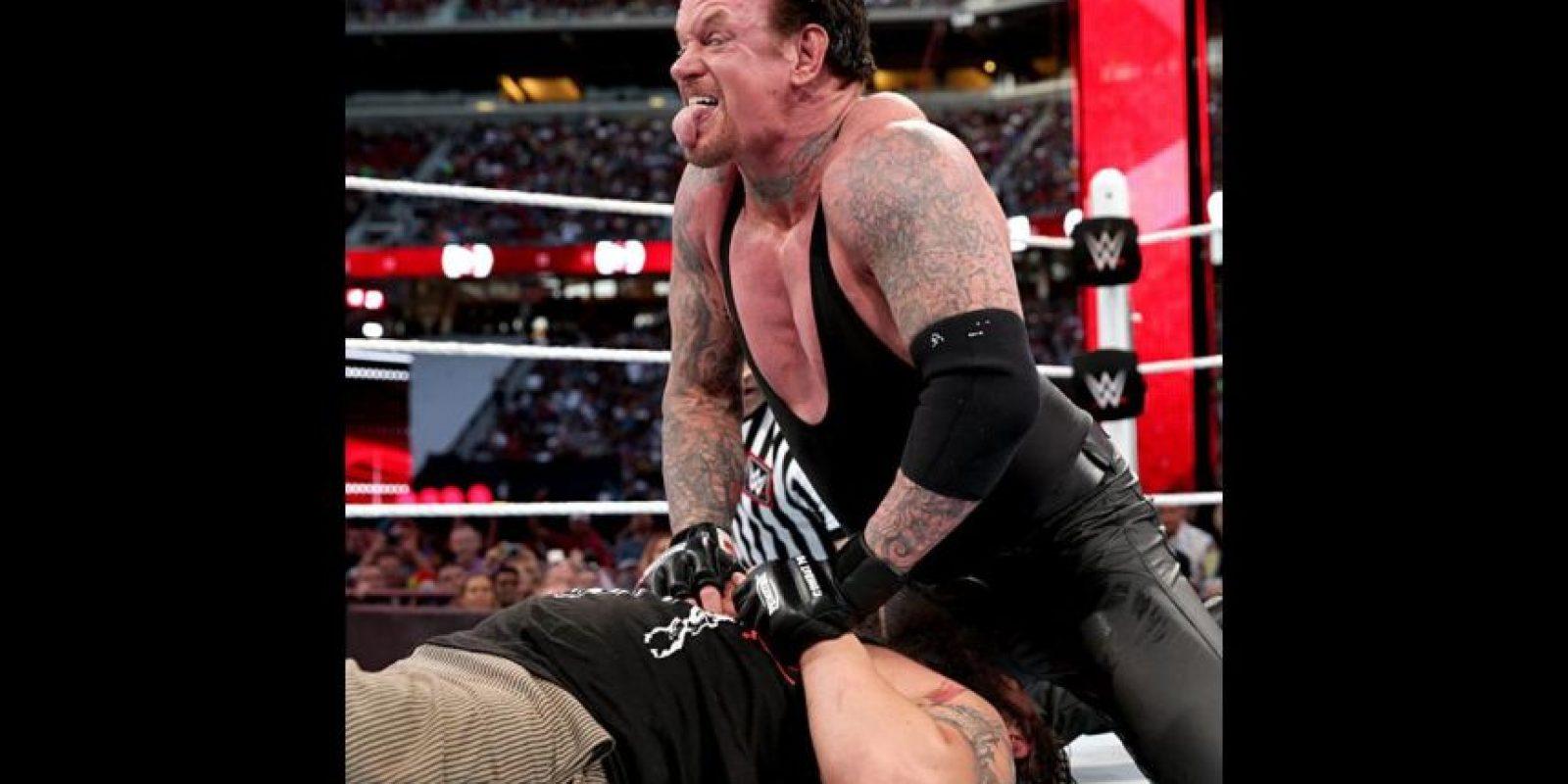 Fue un encuentro para demostrar quién era la cara del miedo en la WWE Foto:WWE