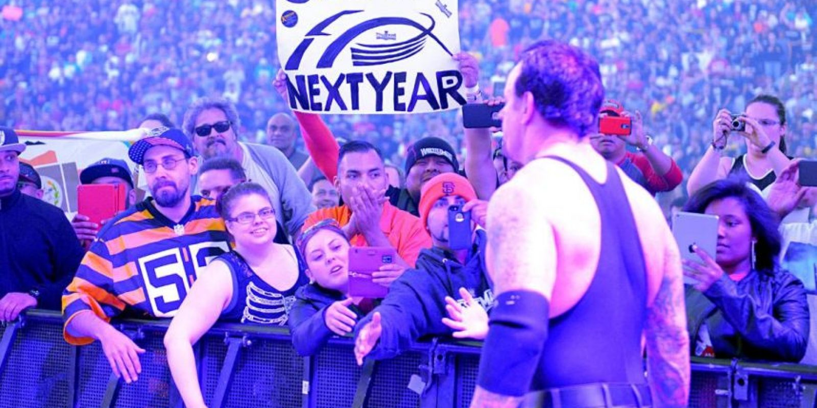 """Taker"" superó a Wyatt Foto:WWE"