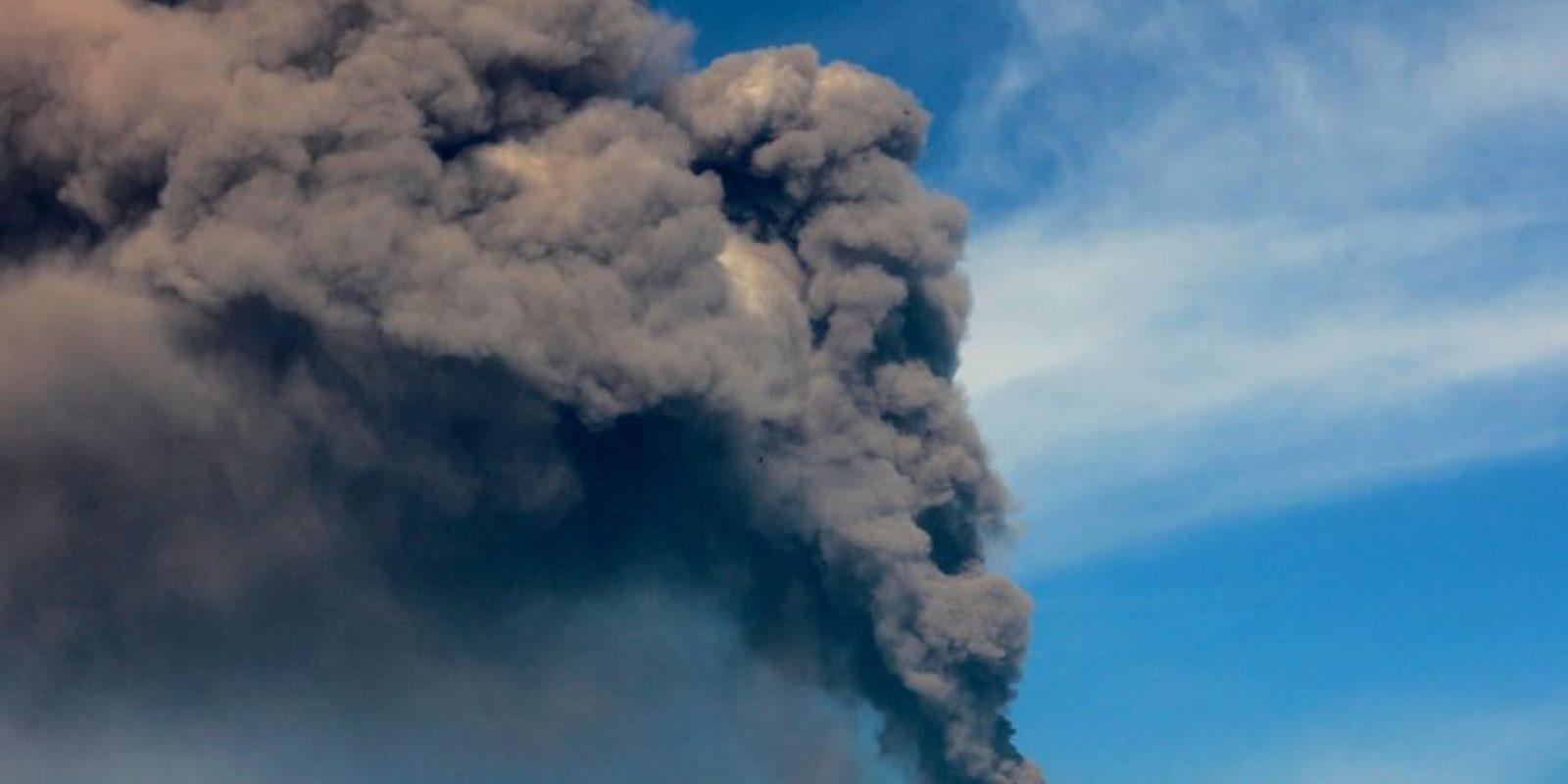 Accidente de aviación en Indonesia. Foto:AFP