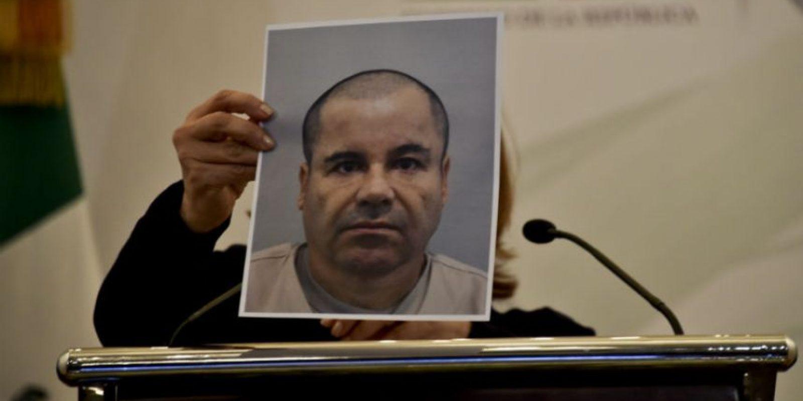 """Después de 18 minutos que el narcotraficante escapara se inició la """"alerta roja"""". Foto:AFP"""