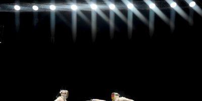 Campeonatos del Mundo de Esgrima 2015 llevados a cabo en Alemania. Foto:AFP