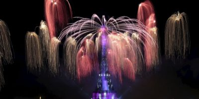 Celebraciones del Día de la Bastilla en Francia. Foto:AFP