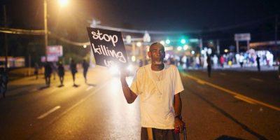 5. El manejo del caso generó protestas y disturbios en Ferguson y en múltiples ciudades de Estados Unidos. Foto:Getty Images
