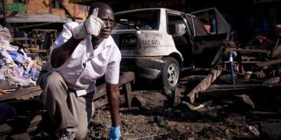 Ambas tenían explosivos atados a su cuerpos. Foto:Getty Images