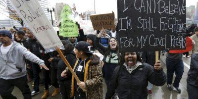 """7. """"Somos una nación construida bajo el estado de derecho, por eso necesitamos aceptar la decisión del jurado investigador"""", dijo el presidente de Estados Unidos, Barack Obama sobre la determinación. Foto:Getty Images"""