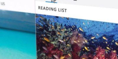 Además se incluyeron opciones como lista de lectura y descargas como un botón más. Foto:Microsoft Windows