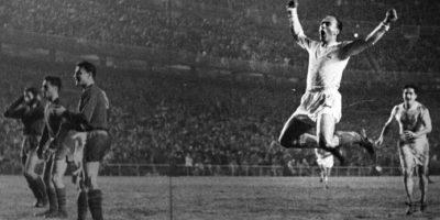 """""""La Saeta Rubia"""" ganó cinco Copas de Europa con el Real Madrid Foto:Twitter"""