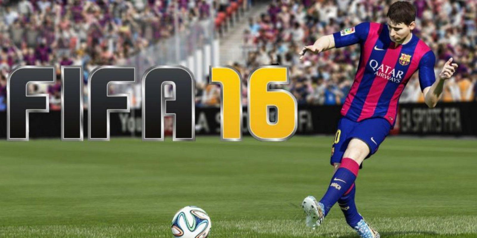 FIFA 16 se lanzará en septiembre próximo. Foto:EA Sports