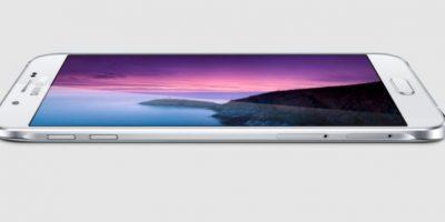 El Galaxy A8 es el modelo más delgado de esta marca Foto:Samsung