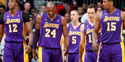 9. Los Ángeles Lakers (NBA) Foto: Getty Images