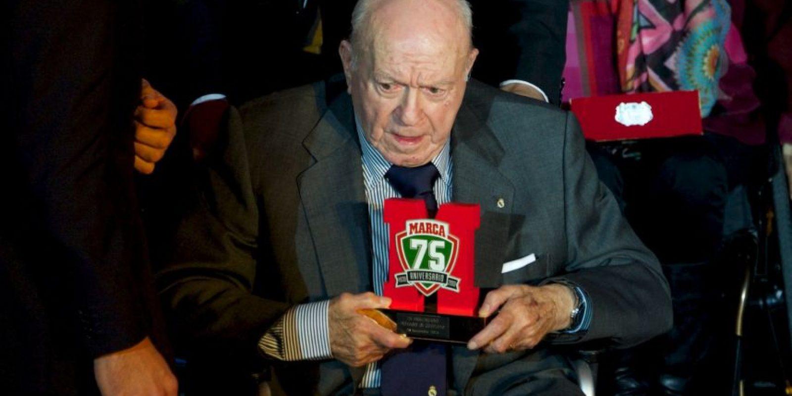 Alfredo Di Stéfano Foto:Getty Images