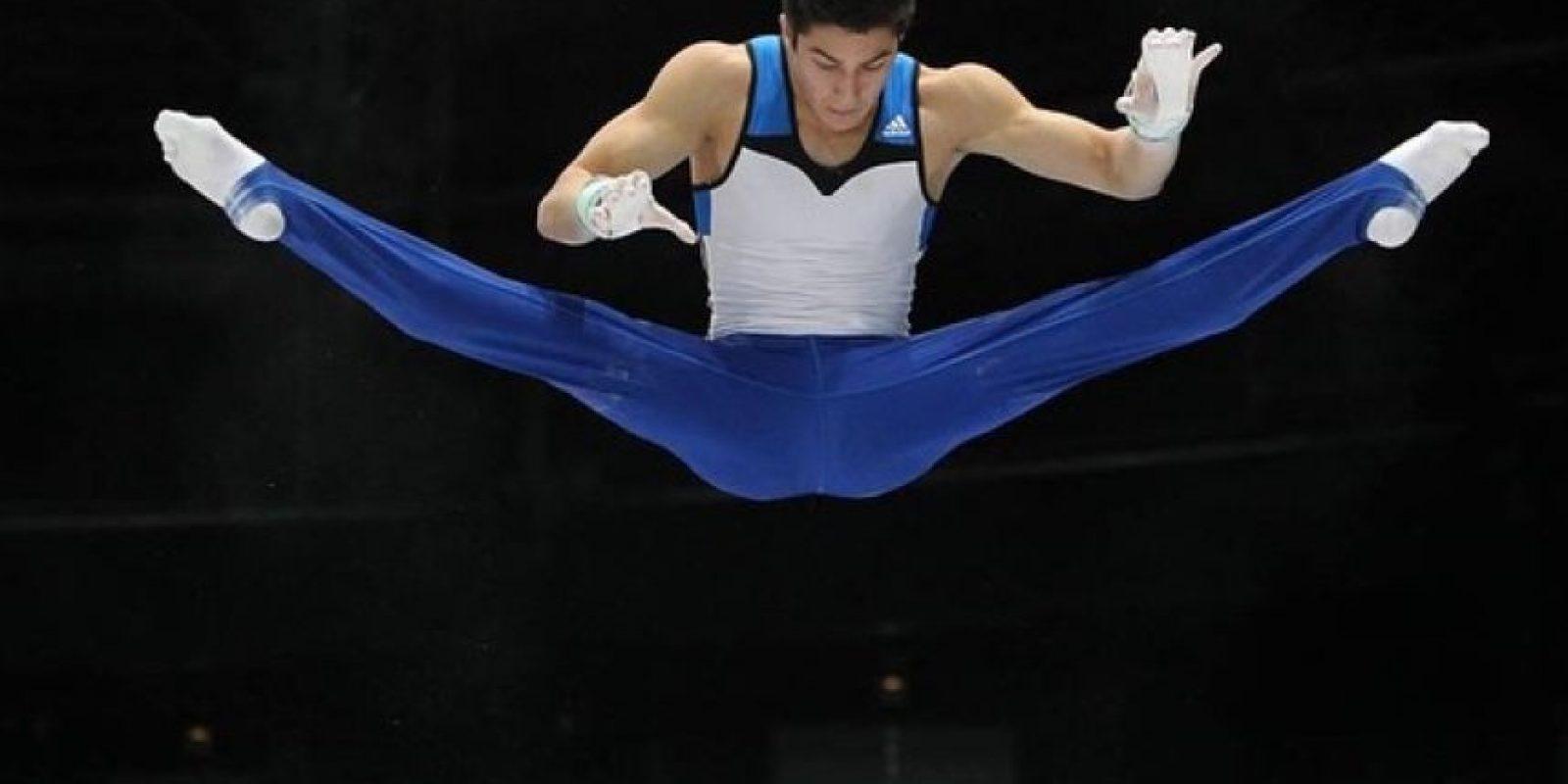 """El gimnasta Arthur Nory subió un video a Snapchat, en el que varios deportistas llaman """"negro"""" a su compañero Angelo Assumpçao, previo a los Juegos Panamericanos Foto:/instagram.com/arthurnory"""