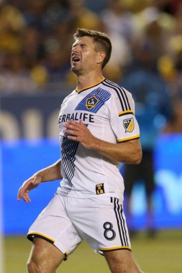 El mediocampista inglés fichó por Los Ángeles Galaxy tras pasar toda su carrera en el Liverpool. Foto:Getty Images