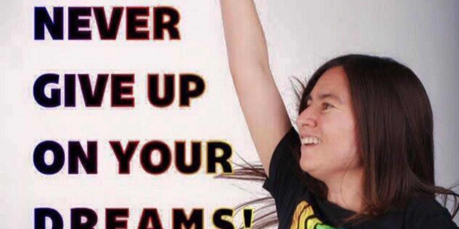 """En 2010 Swidecki rompió el Récord Guinness del """"maratón más largo de un juego de baile o ritmo"""" Foto:facebook.com/pages/Carrie-Swidecki/"""