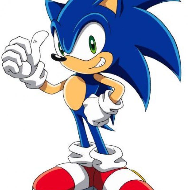 """""""Sonic the Hedgehog"""" (o """"Sonic el erizo"""") es un personaje de videojuegos y la mascota creada por y para SEGA. Foto:SEGA"""