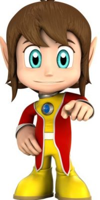 """""""Alex Kidd"""" es un personaje de videojuegos creado por SEGA. Fue considerado como la mascota de la compañía hasta el debut de """"Sonic"""" en 1991. Foto:SEGA"""