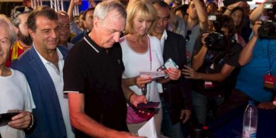 Johan Cruyff Foto:Vía twitter.com/FCBarcelona_es