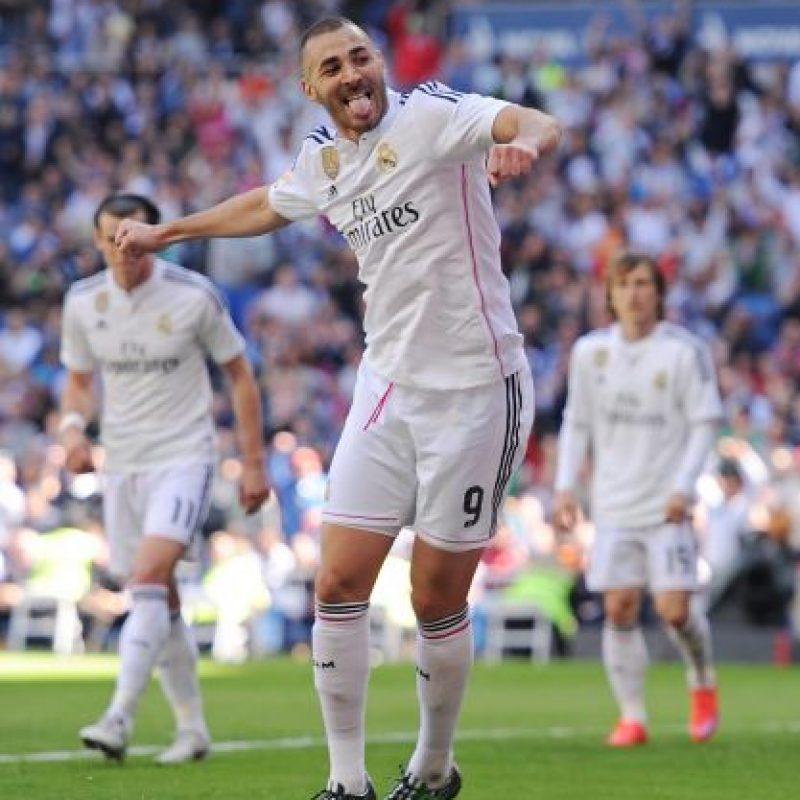 Karim Benzema es de los mejores pagados en el Madrid; gana 8.6 millones de dólares Foto:Getty Images